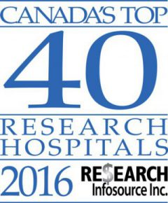 Canada's Top 40 Research Hospitals of 2016