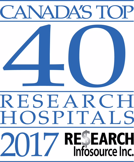 Canada's Top 40 Research Hospitals of 2017