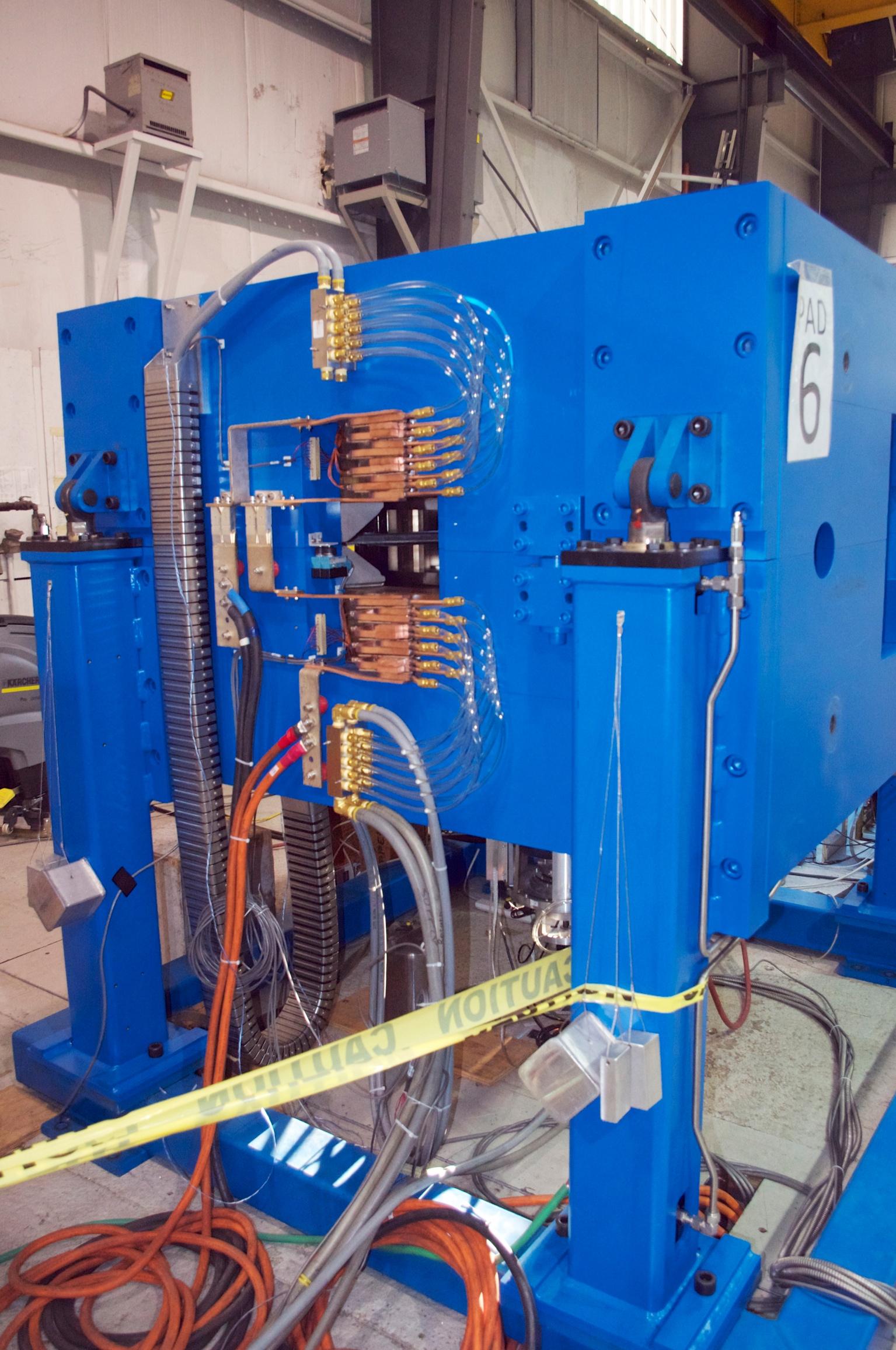 Cyclotron at factory
