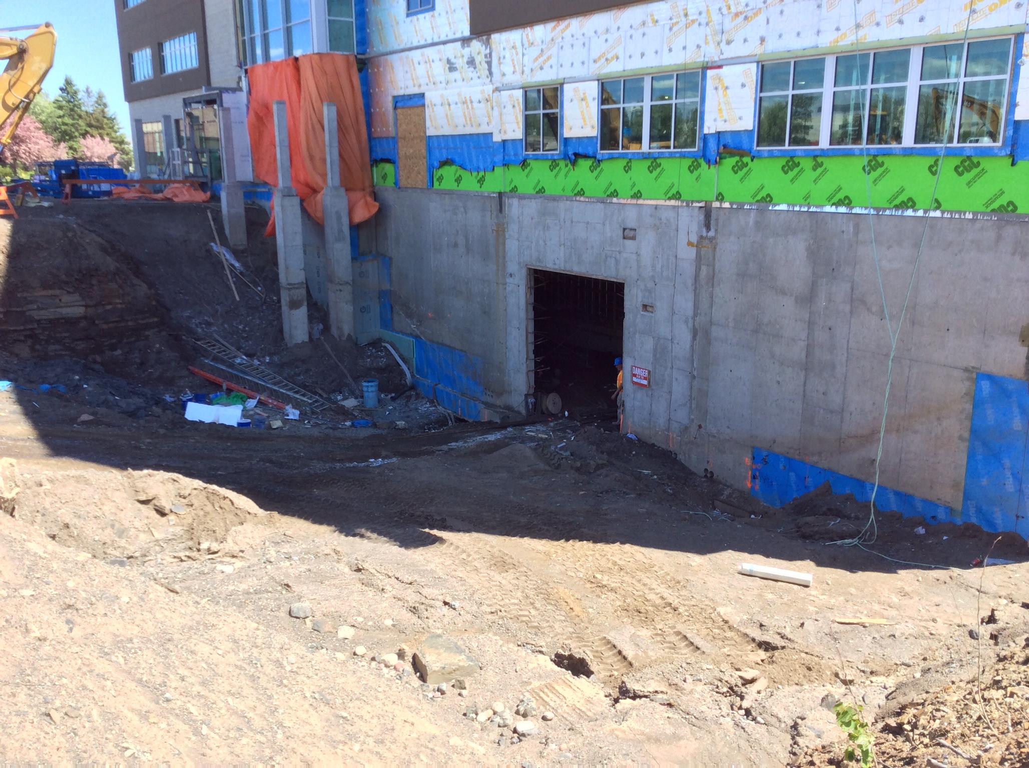 Bunker hole