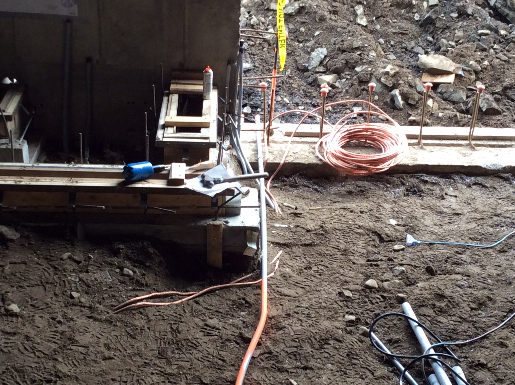 Framing trenches