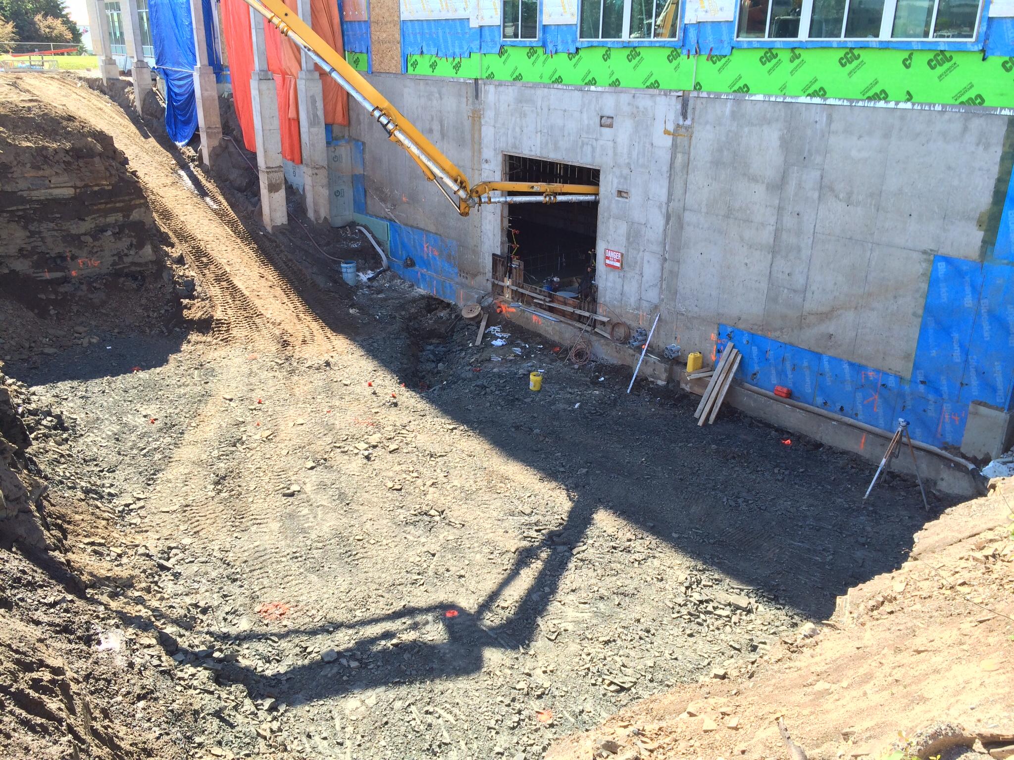 Delivering concrete