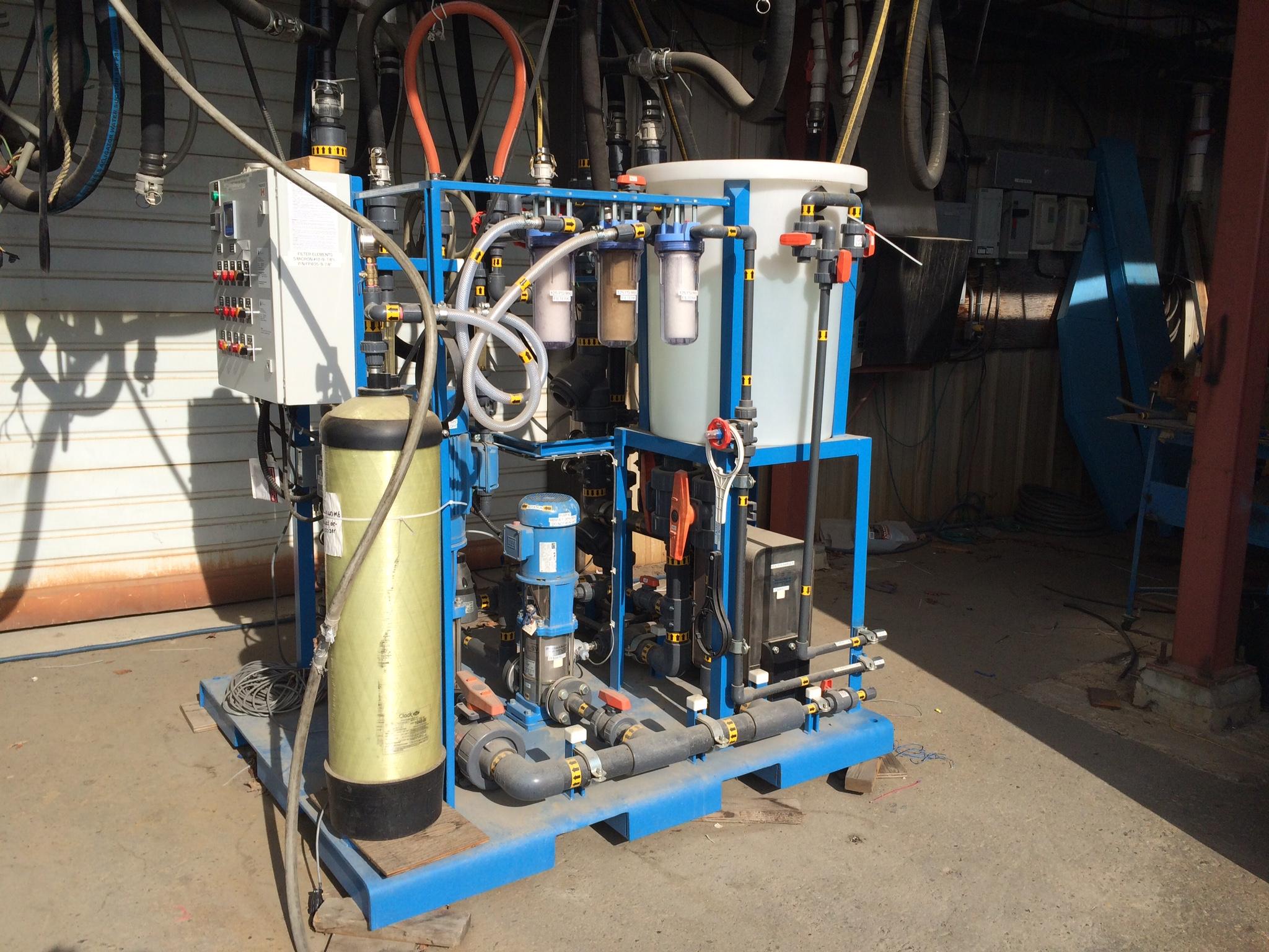 Water Pak at factory