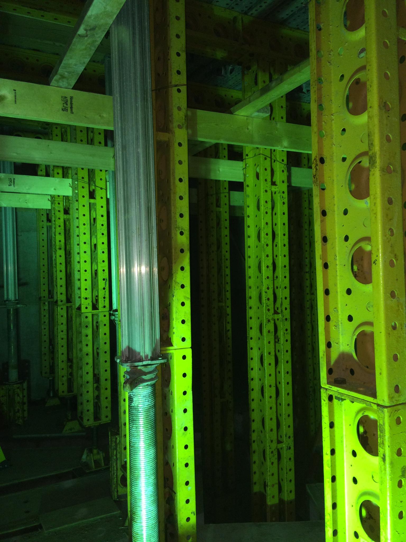 Inside bunker framework