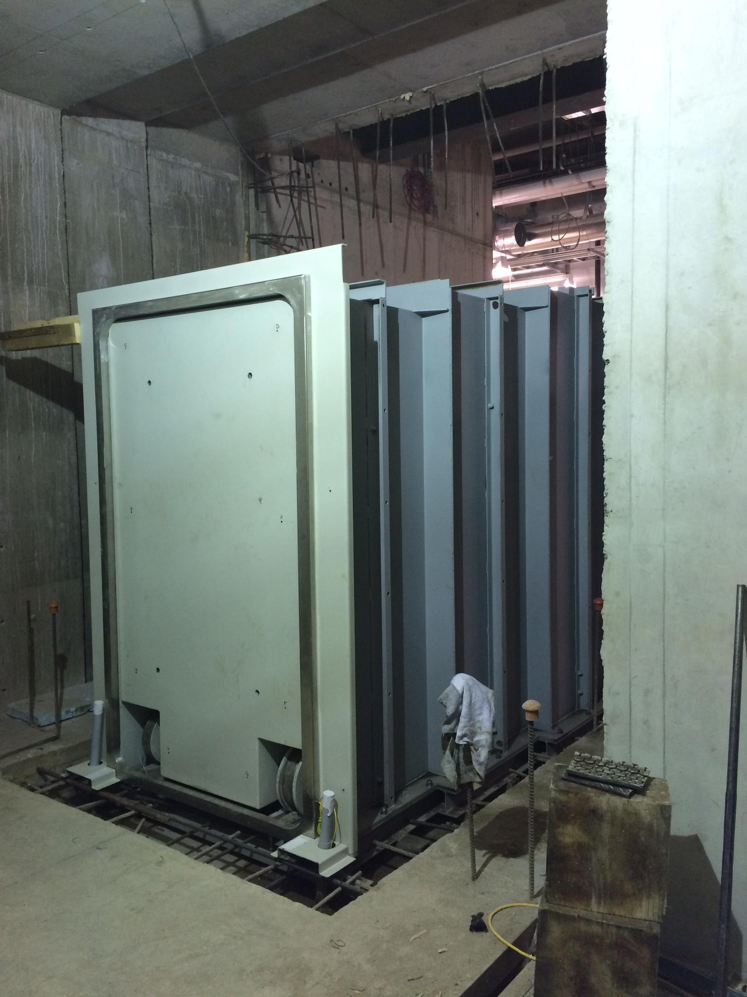 Bunker door and frame