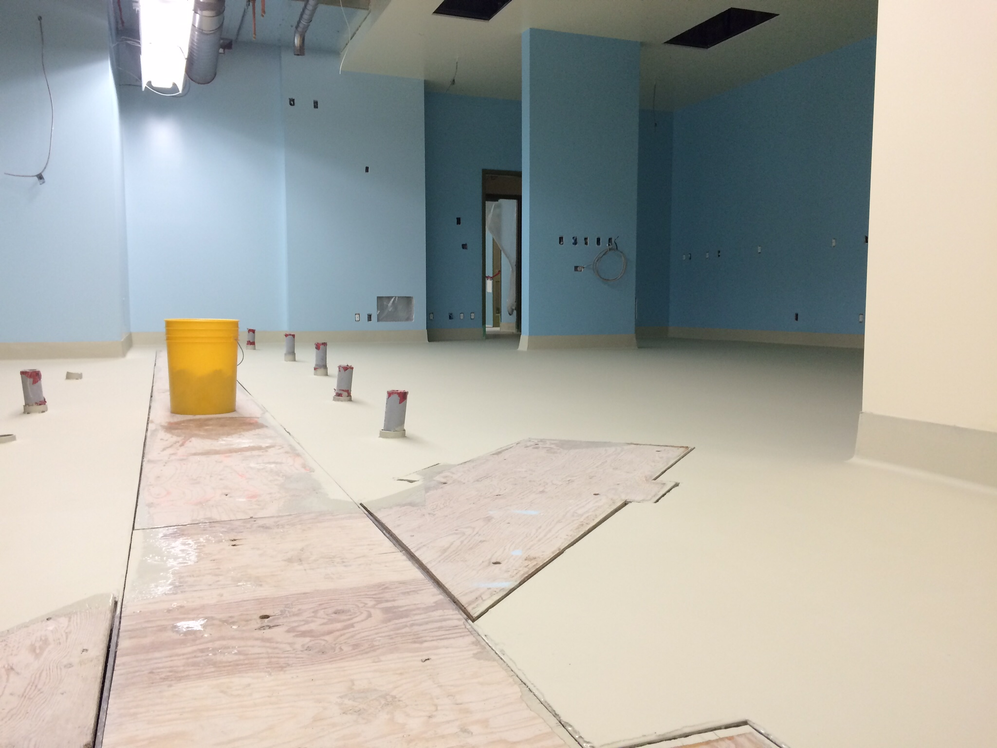 Research Lab painting