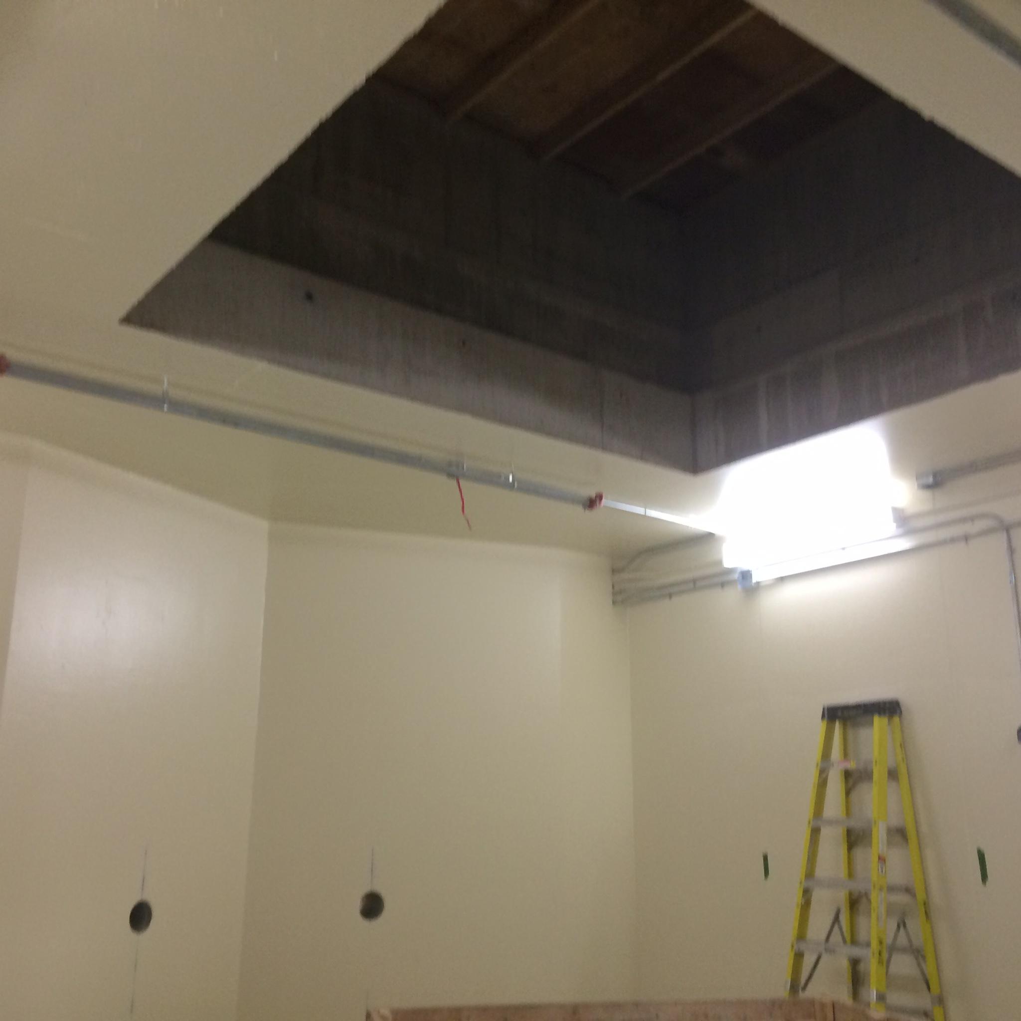Bunker ceiling