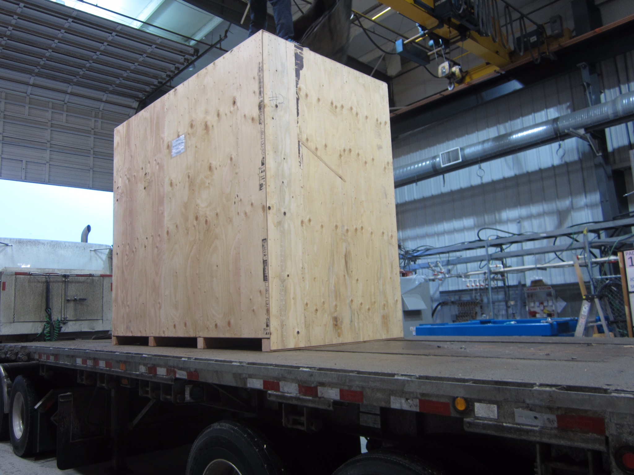 Cyclotron crated