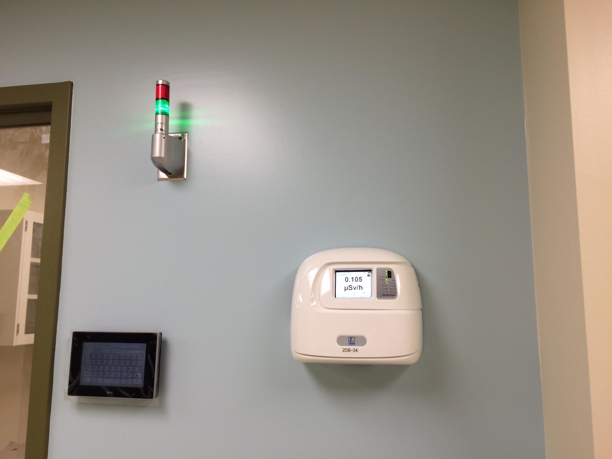 Area radiation monitor
