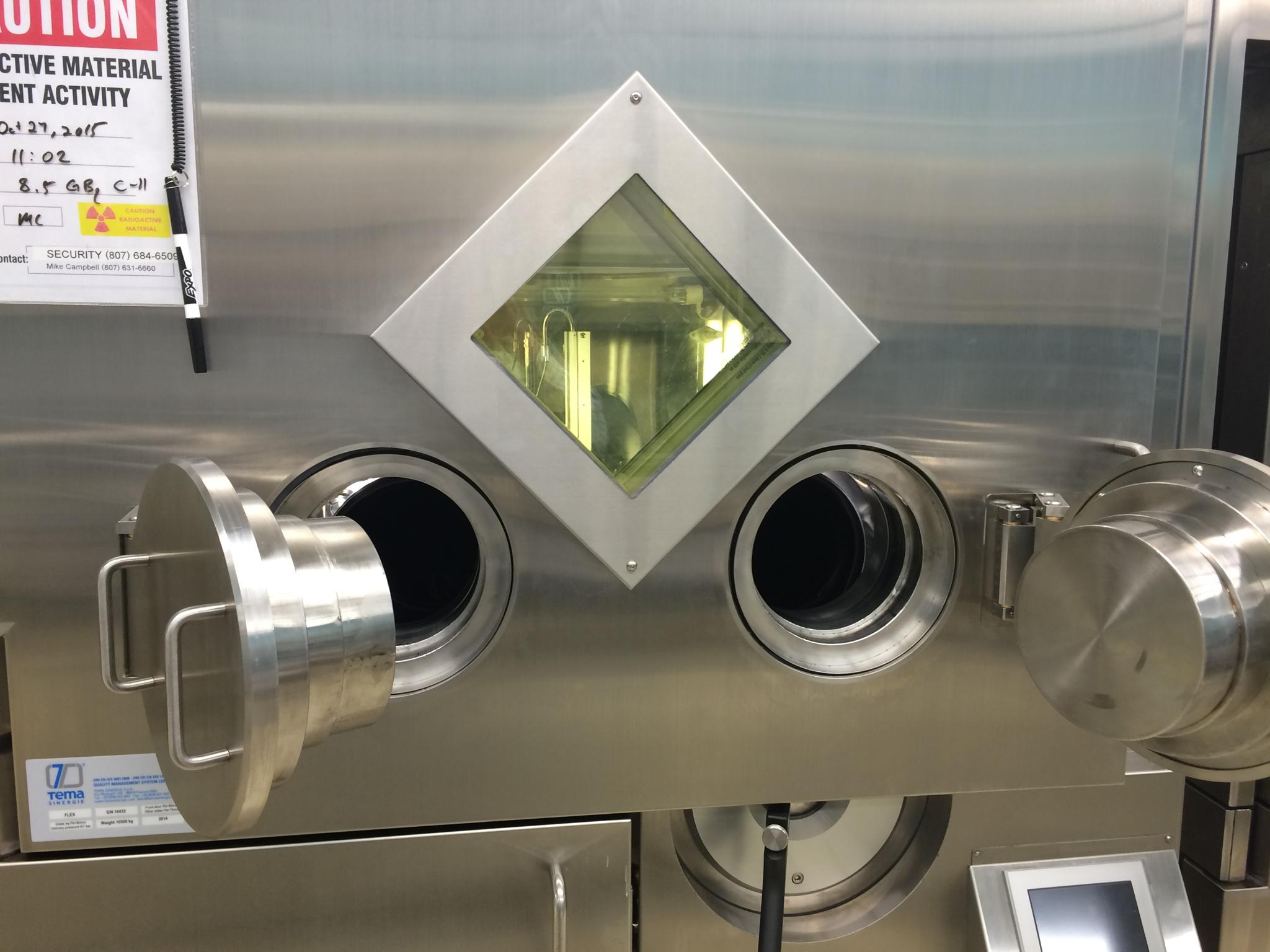 Dispensing hot cell