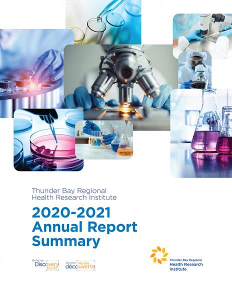 2020-21 TBRHRI Annual Report